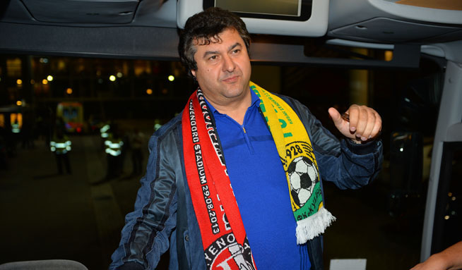 The enigmatic football oligarch Oleg Mkrtchyan has played a major role at Anzhi Makhachkala