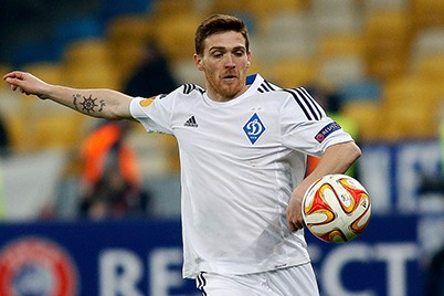 Antunes defensive behaviour can be suspect at times - Image via Dynamo Kyiv