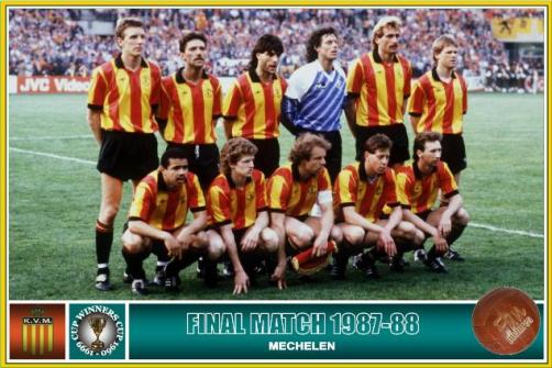 Eli Ohana won the European Cup Winners' Cup with Mechelen - Image via abc
