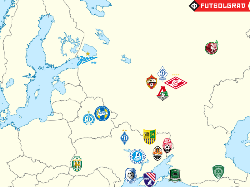 A potential post-Soviet Super League has now been shelved due to the war in the Donbass