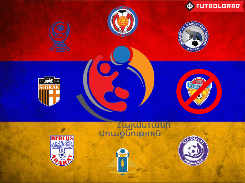Armenian Premier League – The Smallest League in Europe
