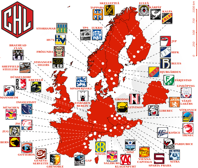 The Champions Hockey League could serf as a blueprint for a new European Super League - Image via abc