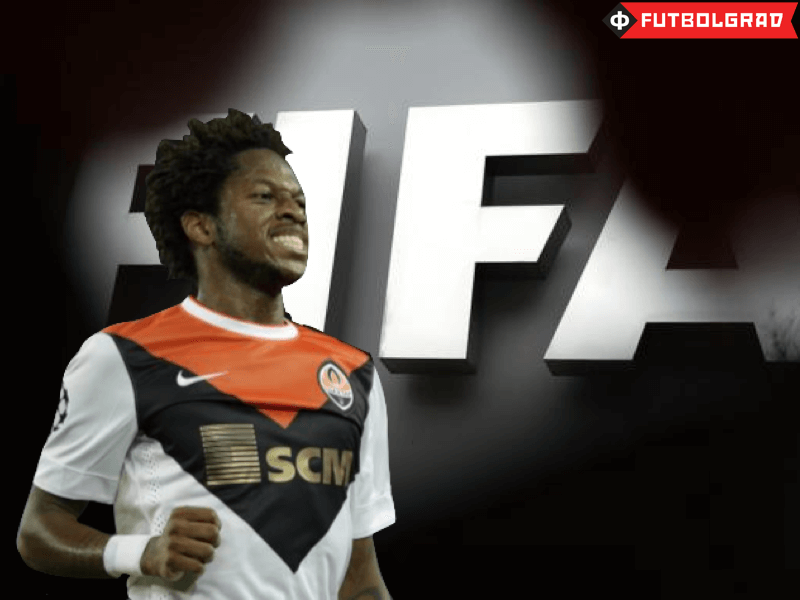 Shakhtar's Fred Banned By FIFA
