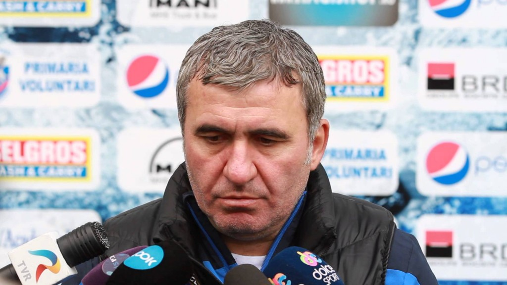 Georghe Hagi - As Owner and Manager of FC Viitorul - Image via YouTube
