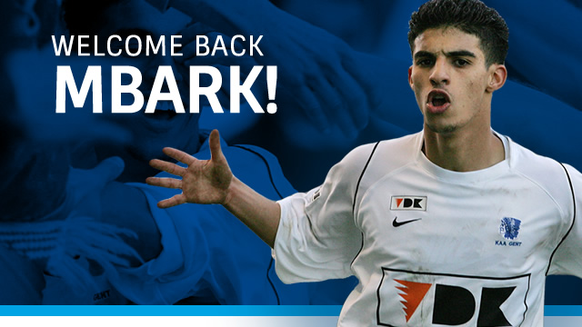 KAA Gent welcome back Boussoufa - Image via KAA Gent