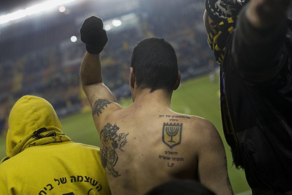 A member of Beitar Jerusalem's La Familia - Image via abc