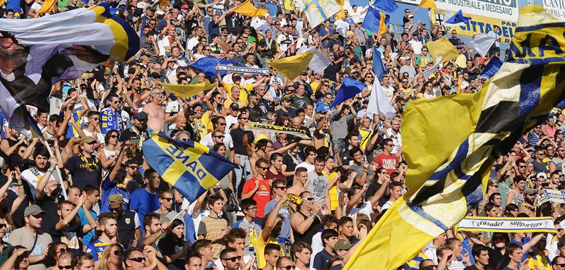 The resurrection of Parma Calcio has been greeted with enthusiasm - Image via abc