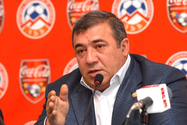 Ruben Hayrapetyan has promised the creation of more professional teams in Armenia - Image via armenianow.com