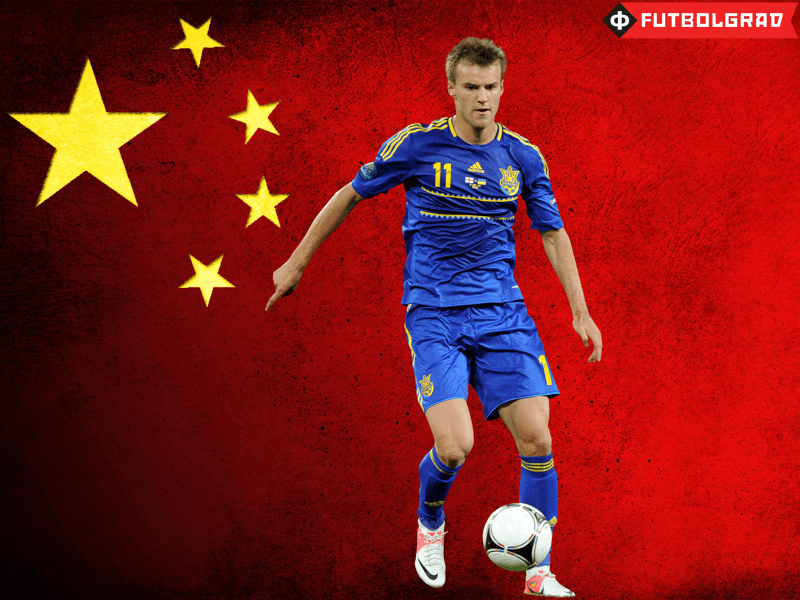 Dynamo Kyiv have recently rejected an offer from China for Yarmolenko