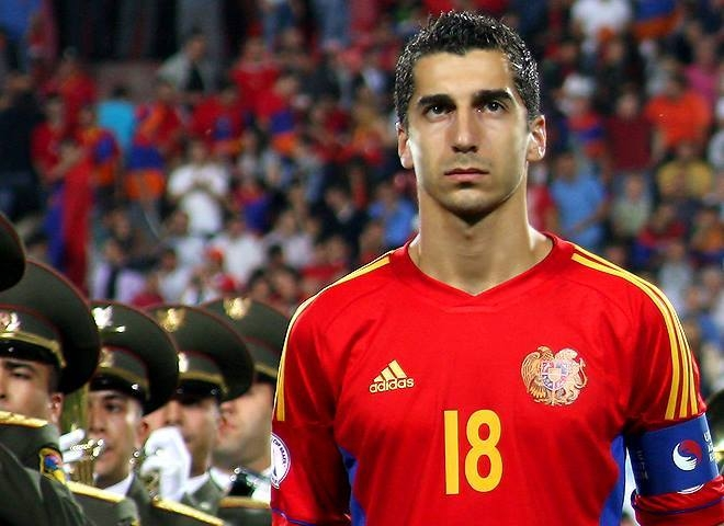 Armenia captain Mkhitaryan has been diplomatic about Hayrapetian's choices - Image via abc