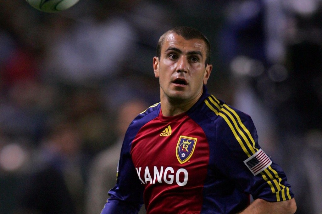 Real Salt Lake CIty's Yura Movsisyan has been among those excluded from the squad - Image via RSL Soapbox