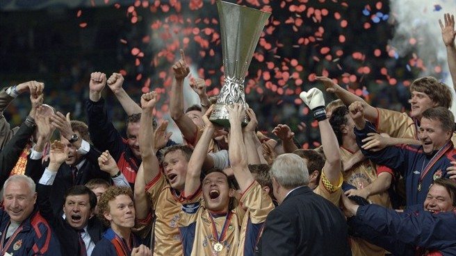 In 2005 CSKA Moscow won the UEFA Cup - Image via UEFA