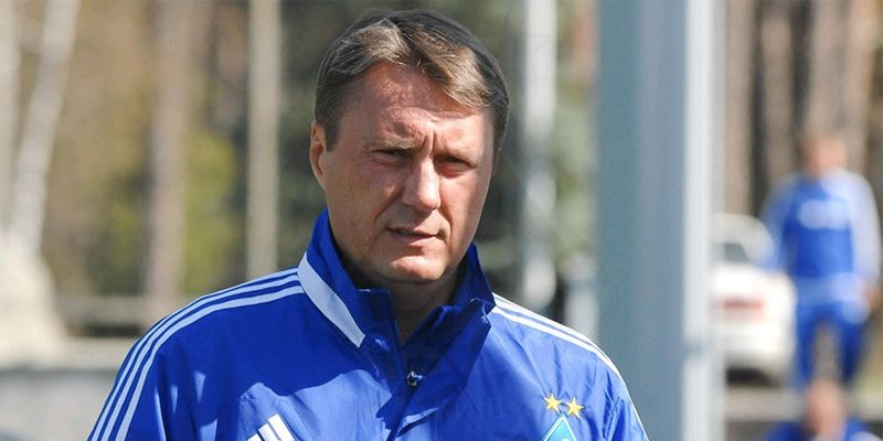 Alyaksandr Khatskevich is a former Dynamo Kyiv coach and player - Image via Telegraph.ua