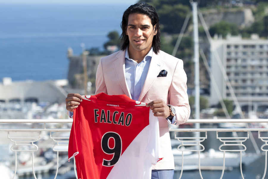 Falcao became an expensive flop in Monaco - Image via abc