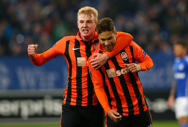 Shakhtar Donetsk vs Anderlecht. Marlos and Kovalenko hope to repeat their magic performance - Image via Zimbio