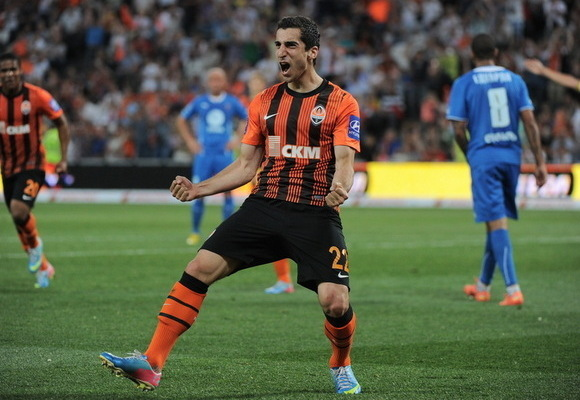 Mkhitaryan scored 26 goals in his last season for Shakhtar - Image via abc