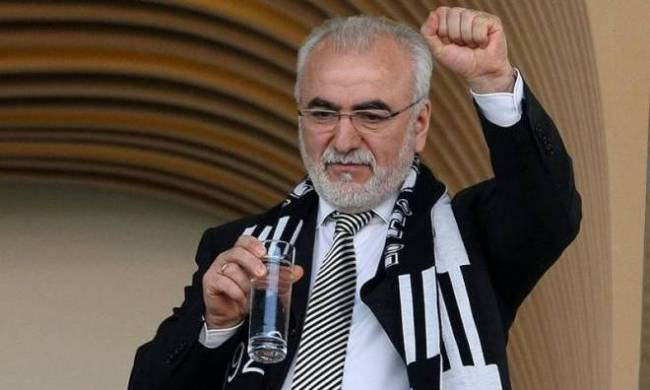 PAOK owner Ivan Savvidis - Image via abc