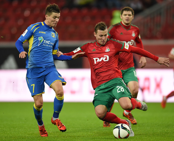 Dmitry Poloz (on the left) was rejected by Lokomotiv - Image via zimbio.com