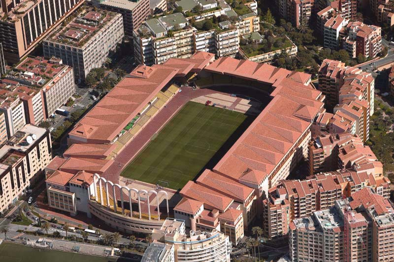 The Stade Louis II - Image via abc