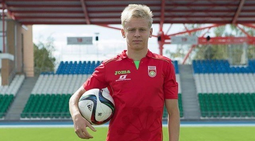 Oleg Zinchenko is playing for the Russian Football Premier League team Ufa - Image via abc