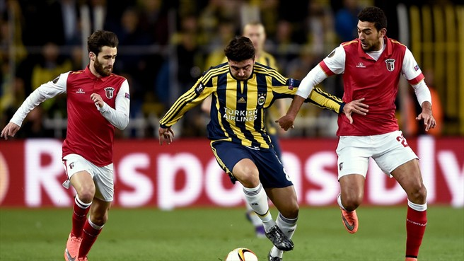 Braga steamrolled past Fenerbahçe in the round of 16 - Image via UEFA
