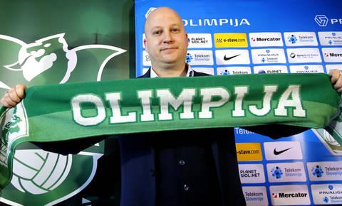 Olimpija's coach Marko Nikolić - Image via abc