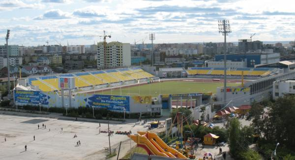 Yakutsk Tuymaada Stadium is a great facility but difficult to reach for most clubs in the third division - Image via abc
