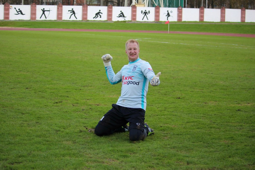 Aleksandr Budakov had much to celebrate this season - Image via FC Isloch