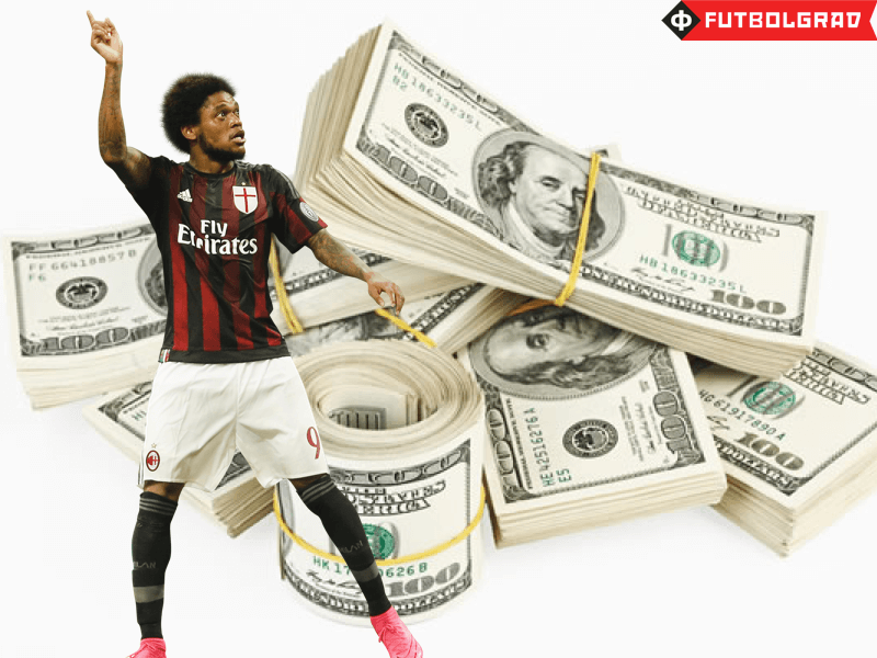 Luiz Adriano Transfer Numbers Revealed