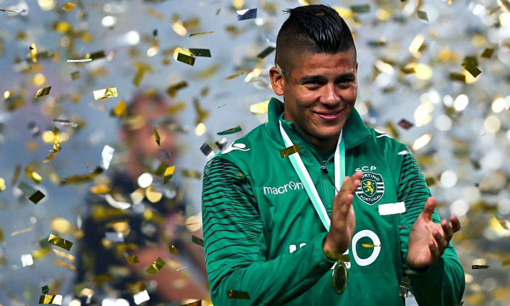 Marcos Rojo during his time at Sporting Lisbon - Image via Guardian