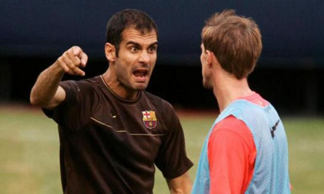 Pep Guardiola and Alexander Hleb had a difficult relationship - Image via abc