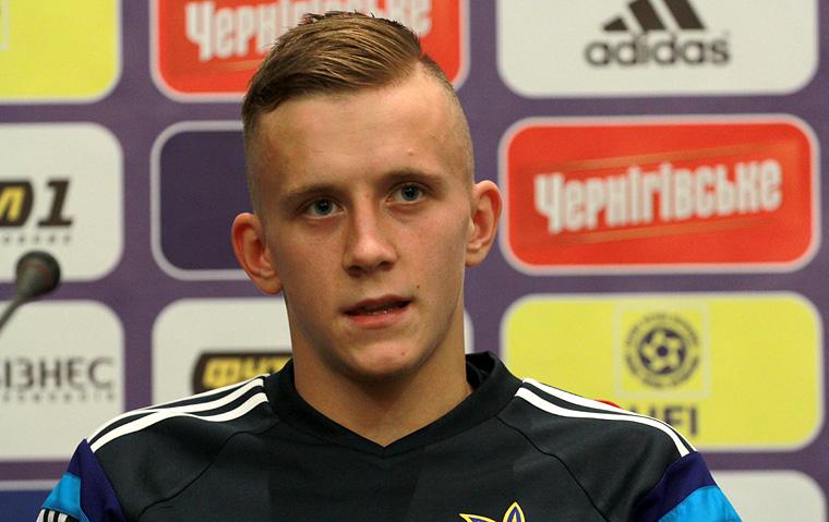 Ivan Petryak will be joining Shakhtar at the end of the season - Image via Dynamo Kyiv