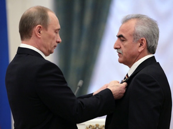Savvidis is considered part of Putin's inner circle - Image via abc