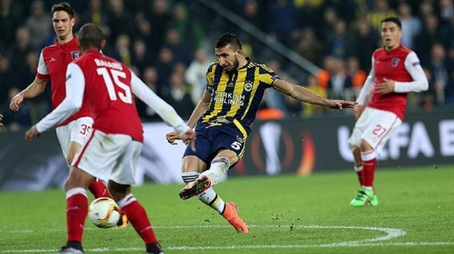In the round of 16 Braga eliminated Fenerbahçe - Image via abc