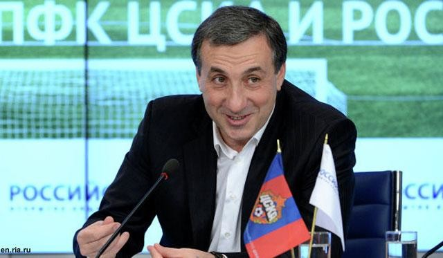 CSKA Moscow boss Yevgeny Giner - Image via abc