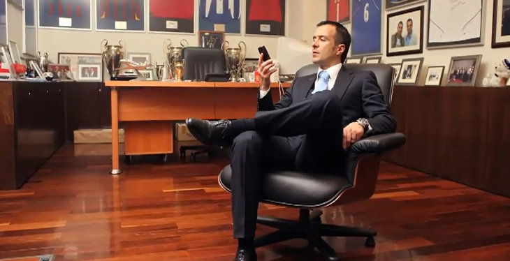 Jorge Mendes will follow Dinamo Moscow's results closely - Image via abc