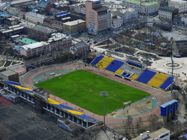 The Dinamo Stadium in Vladivostok - Image via abc