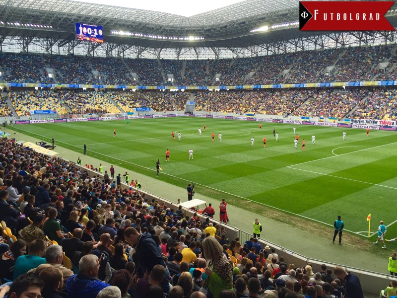 The Ukrainian Cup Final had an attendance of 21,700