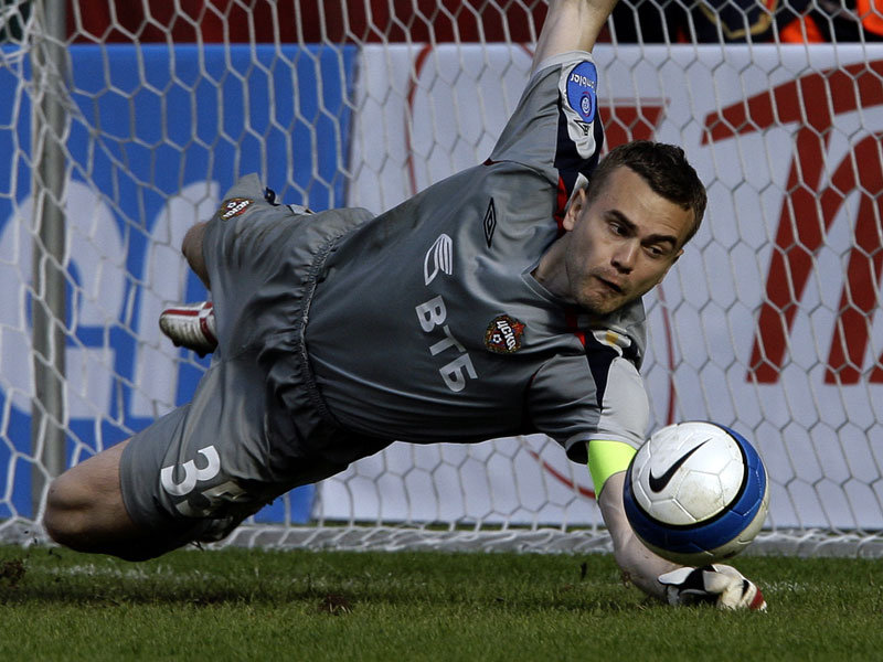 Igor Akinfeev during his early years at CSKA Moscow - Image via abc
