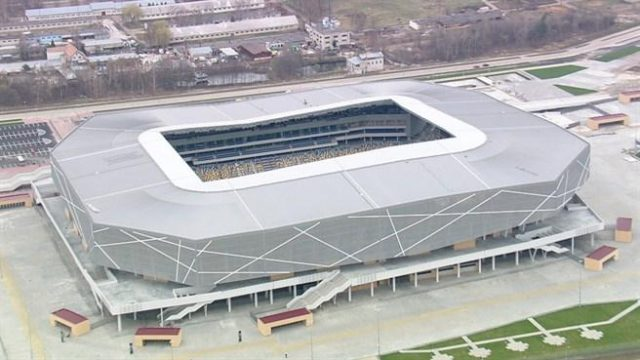 The Lviv Arena has been a controversial choice for the final Zorya Luhansk vs Shakhtar Donetsk - Image via Stadium Guide