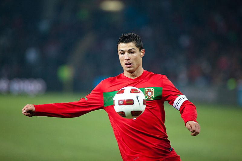 Cristiano Ronaldo was involved in Portugal's winning goal - Image by Ludovic Péron