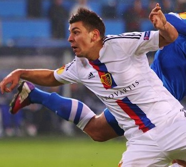 From Austria Vienna Dragović moved to FC Basel - Image via Football.ua