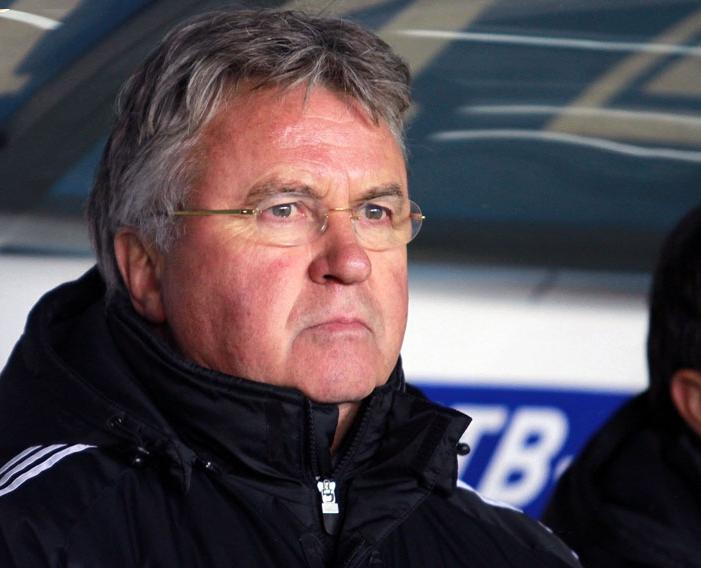 Guus Hiddink orchestrated a huge upset with Russia's victory in the Russia vs England match - Image via soccer.ru