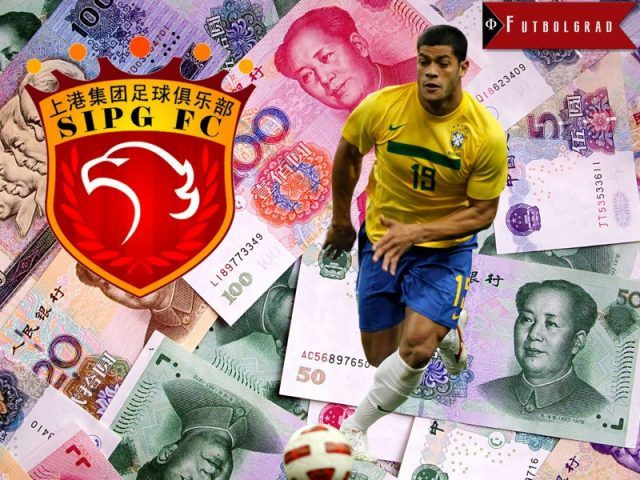 Hulk has been sold to the Chinese club Shanghai SIPG