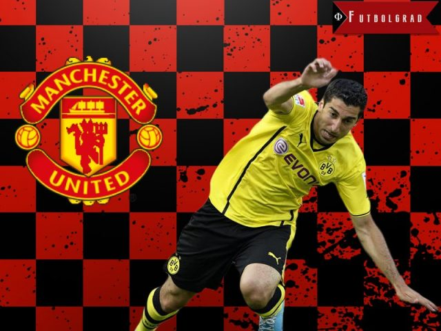 Mkhitaryan to Manchester United