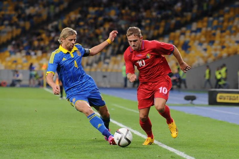 Tymoshchuk has been included in Ukraine's Euro 2016 Squad Image via Football.ua, CC BY-SA 3.0, https://commons.wikimedia.org/w/index.php?curid=37535943