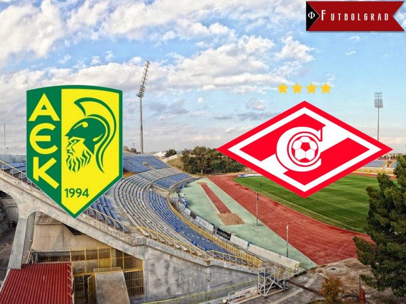 AEK Larnaca vs Spartak Moscow