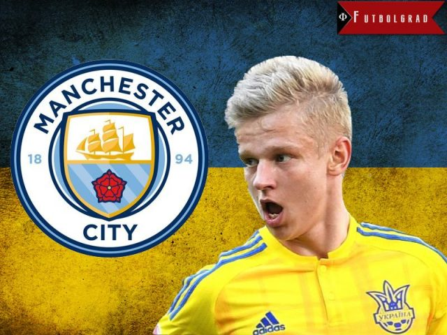 Manchester City's Zinchenko is one of the brightest talents in Ukrainian football