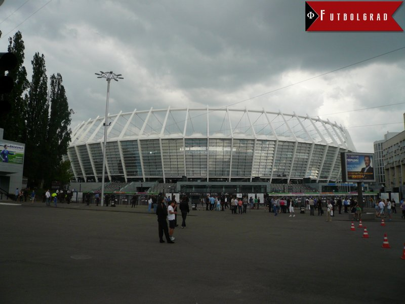 Ukraine vs Croatia will take place at the Olimpiyskiy National Sports Complex. (Manuel Veth / Futbolgrad Network)