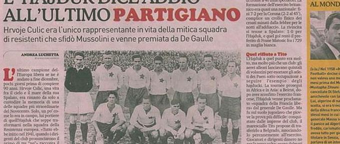 The team that resisted via Gazetta Della Sport